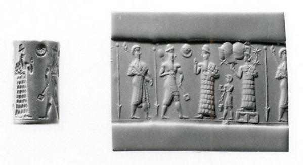 Cylinder seal, Hematite