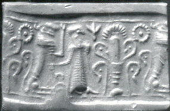 Cylinder seal, Stone, Cypriot
