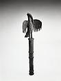 Idiophone: Bird of Prophecy (ahianmwen-oro), Brass, Edo peoples