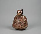 Figure Bottle, Ceramic, Nasca