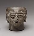Head Vessel, Ceramic, Manteno