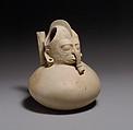 Spouted Vessel, Ceramic, Huastec