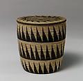 Lidded Basket, Cane (willow ?), Tutsi peoples