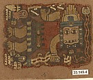 Embroidered Mantle Fragment, Camelid hair, Paracas