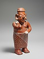 Standing Female Figure, Ceramic, Tala-Tonalá