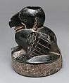 Bird Vessel, Ceramic, red ochre, Olmec