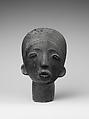 Memorial Head (Ntiri), Terracotta, Akan peoples