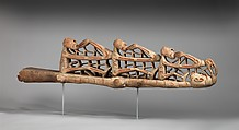 Canoe Prow, Osu, Wood, paint, Asmat people