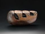 Friction Drum (Lunet or Livika), Wood, shell, Northern New Ireland