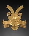 Headdress Ornament, Gold, Calima (Yotoco)