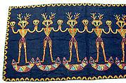 Panel, Cotton, glass beads, Paiwan people