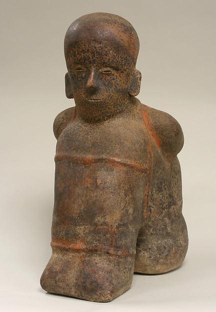 Prisoner Vessel, Ceramic, Colima