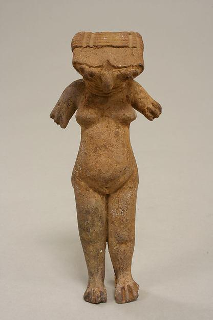 Female Figure, Ceramic, Michoacan (?)