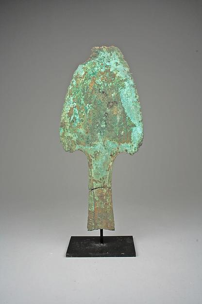Axe Blade, Bronze, Dongson