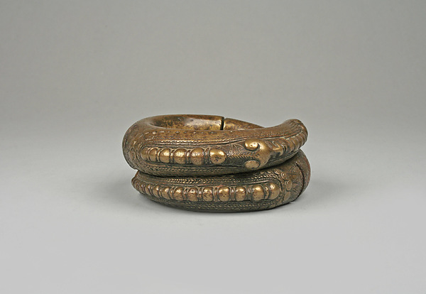 Bracelet, Brass, copper, Toba Batak people