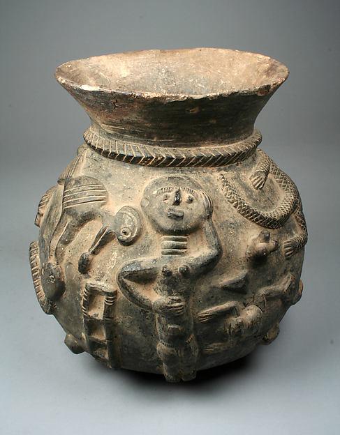 Funerary Vessel, Terracotta, Akan peoples