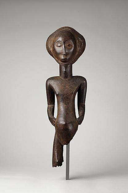Commemorative figure, Wood, Hemba peoples, Niembo group