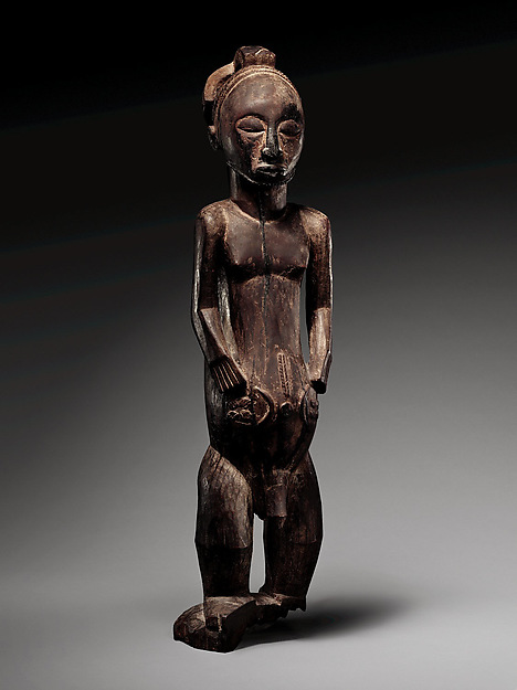 Commemorative figure, Wood, Hemba peoples