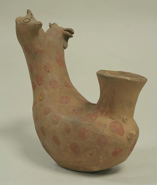 Bottle, Ceramic, Paracas