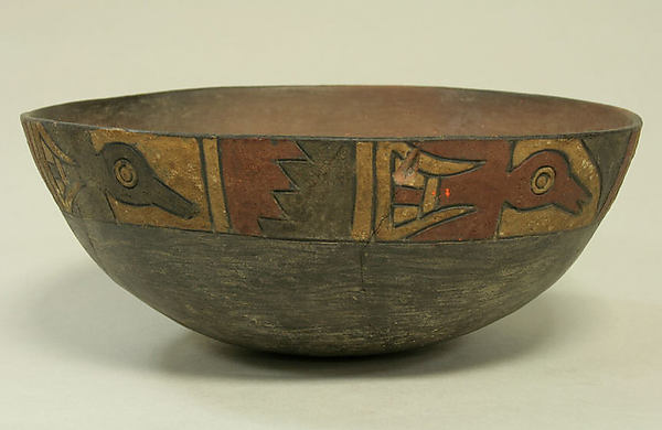 Bowl, Ceramic, Paracas
