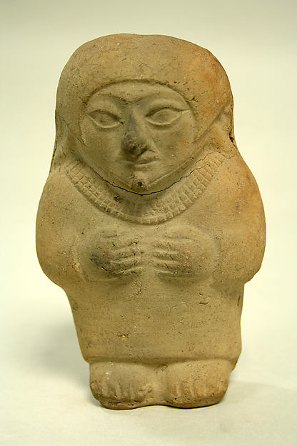 Standing Ceramic Figure, Ceramic, Moche