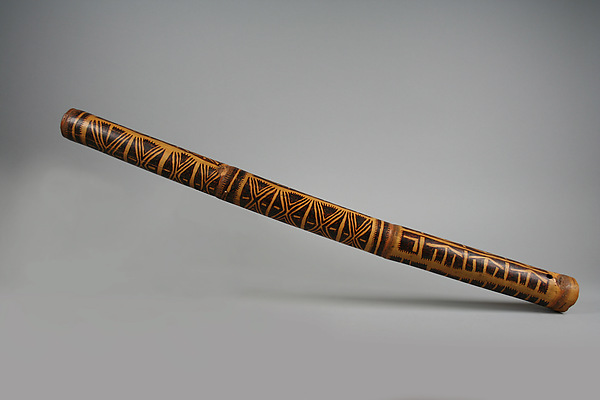 Pipe, Bamboo, Central Province or Massim people