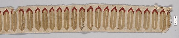 Band Fragment, Camelid hair, Chimú (?)