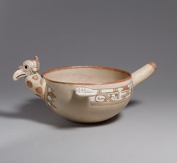 Vulture Bowl, Ceramic ., Isla de Sacrificios