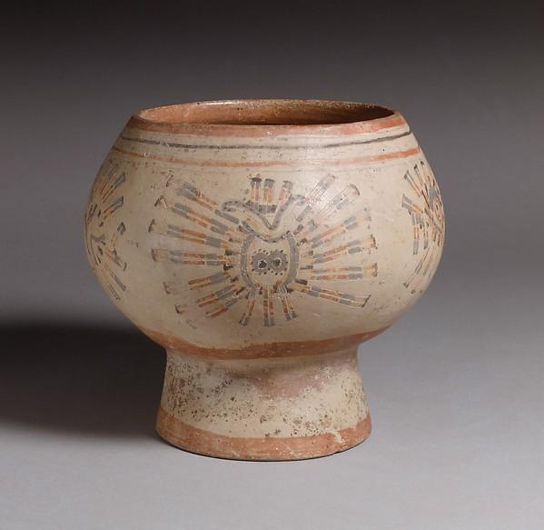 Pedestal Bowl, Ceramic, Guanacaste-Nicoya