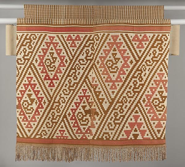 Loincloth, Cotton, camelid hair, Chimú