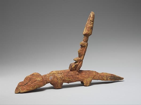 Rider Figure on Quadruped, Wood, pigment, Dogon peoples