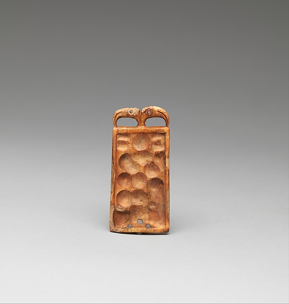 Ornament, Ivory (walrus), Old Bering Sea