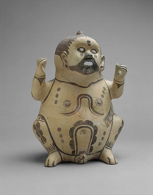 Figure Vessel, Ceramic, Huastec