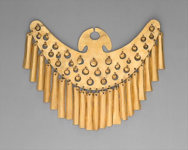 Nose Ornament, Gold, Calima (Yotoco)