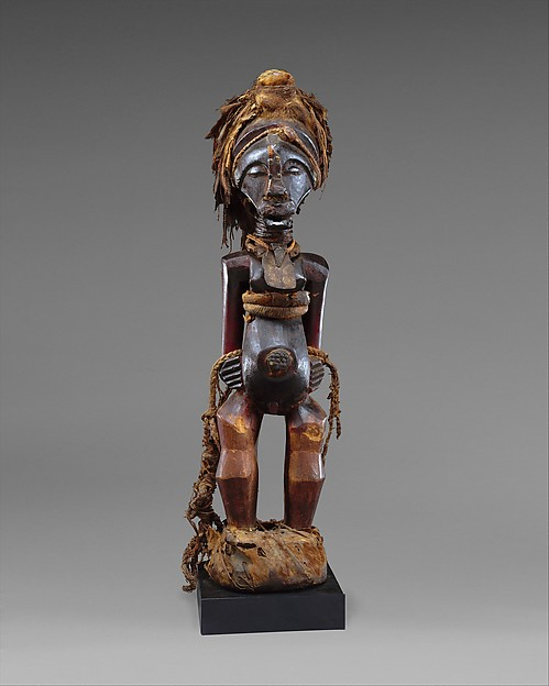 Community Power Figure: Male (Nkisi), Wood, copper, brass, iron, fiber, snakeskin, leather, fur, feathers, mud, resin, Songye peoples