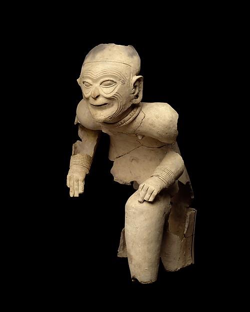 Seated Figure, Ceramic, Tolita-Tumaco