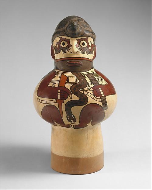 Drum, Ceramic, Nasca