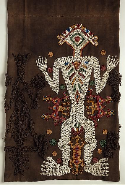 Woman's Ceremonial Skirt (Lau Hada), Cotton, nassa shells, glass beads, Sumba Island