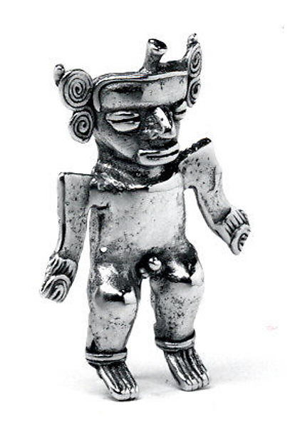 Figure Pendant, Gold (cast), Veraguas (?)