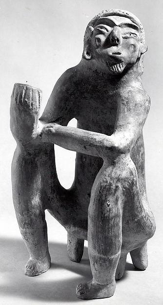 Figure Vessel, Ceramic, Tlatilco (?)