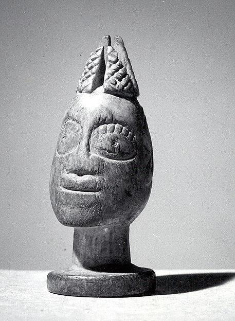 Esu Head (Ela or Irin Ifa), Ivory, Yoruba peoples
