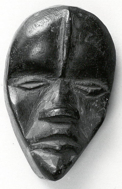 Miniature Mask, Wood, Dan peoples
