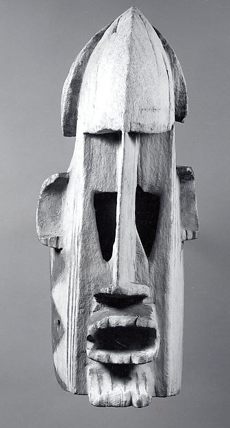 Mask (Samana), Wood, pigment, iron, Dogon peoples