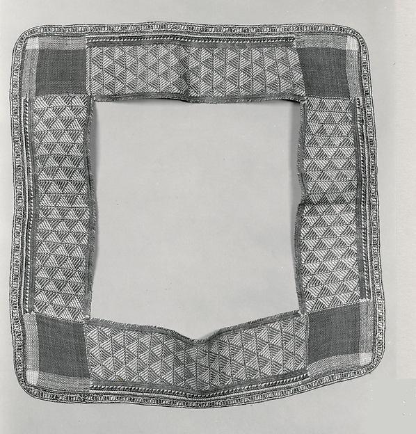 Border for a Dress Mat (Jaki-ed, In, or Nieded), Pandanus leaves, hibiscus fiber, Marshallese