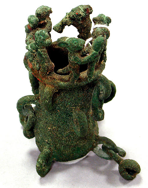 Ornament, Copper (cast), Chimú