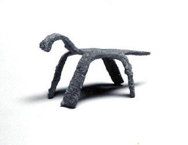 Zoomorphic Figure, Copper alloy, Mali