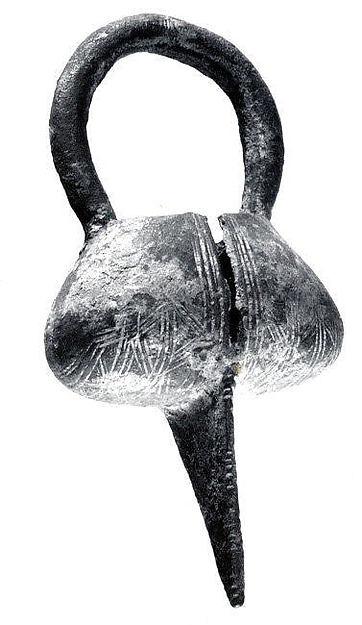 Ornament, Copper alloy, Mali