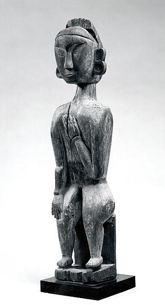 Figure, Wood, paint, Ngadju or Ot Danum peoples
