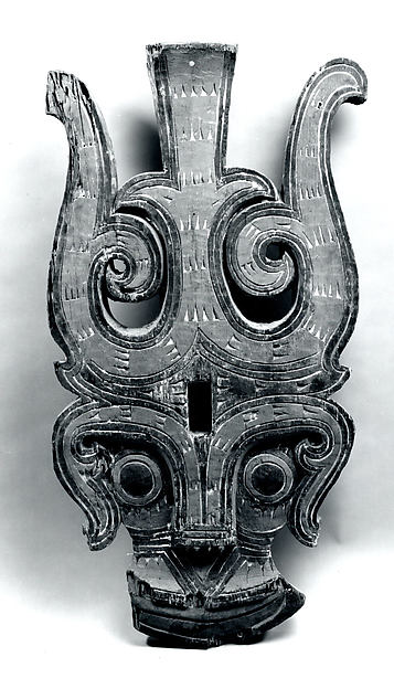Architectural Ornament (Singa), Wood, paint, Toba Batak people