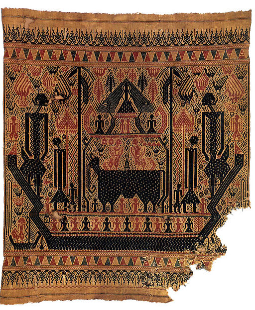 Ceremonial Textile (Tampan), Cotton, Lampung